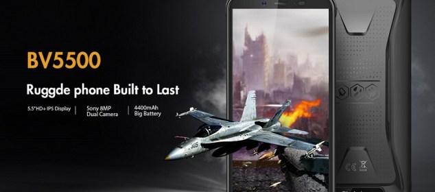 Blackview BV5500: Smartphone Rugged Full Karet dengan Baterai 4400 mAh 1