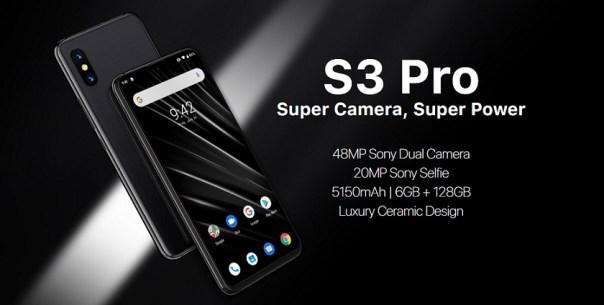 Umidigi S3 Pro: Smartphone Fotografi dengan Helio P70 dan Baterai Besar 1