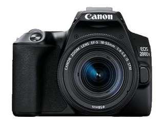 Canon EOS 200D II (EF-S 18-55mm IS STM and EF-S 55-250mm IS STM Kit Lens) Digital SLR Camera
