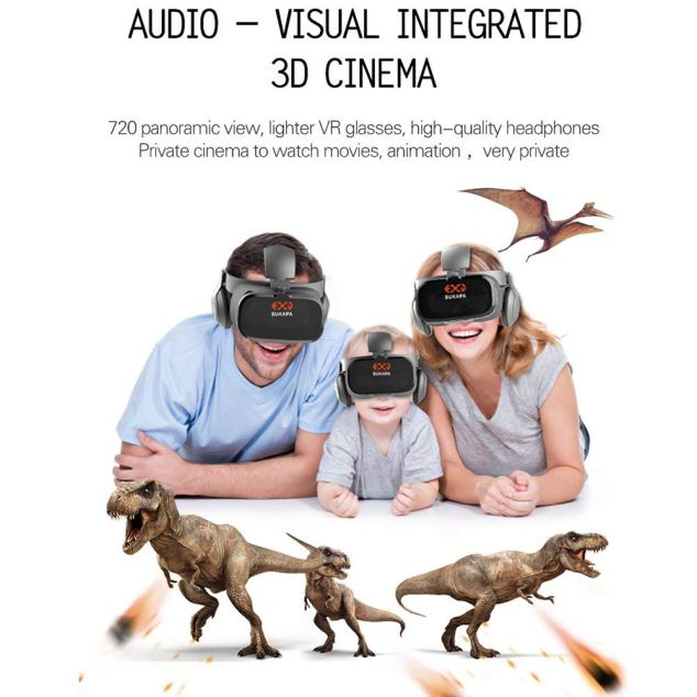 Sukapa Oasis 3D VR Headset Full Review With Pros And Cons