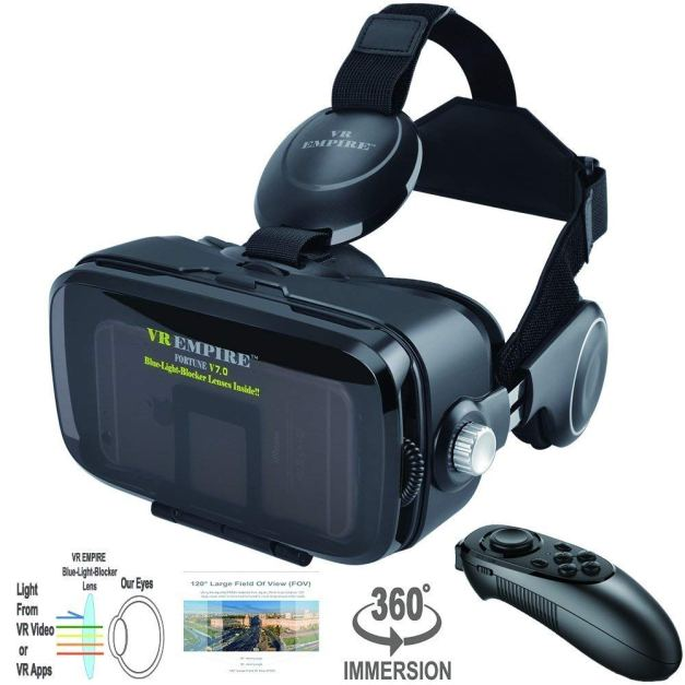 VR EMPIRE Virtual Reality Headset Full Review With Pros And Cons