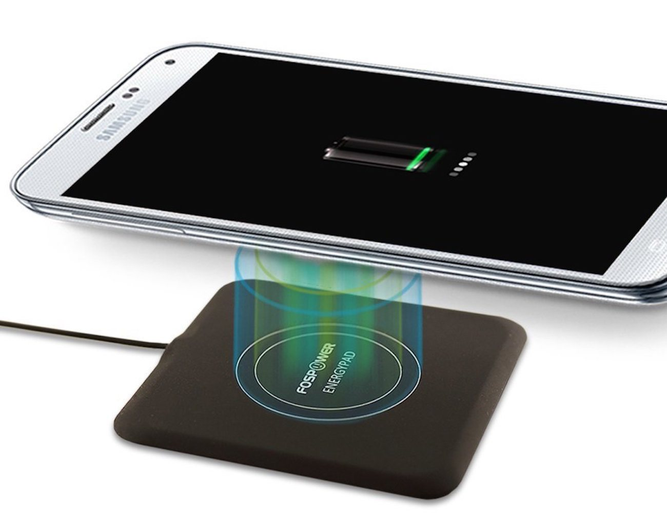 EnergyPad 15A Output Qi Enabled Wireless Charger By