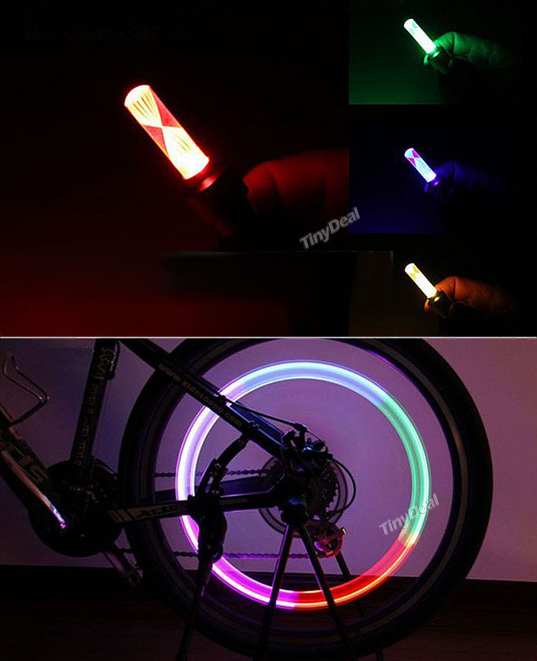 Fahrrad Ventil Licht Vorschau