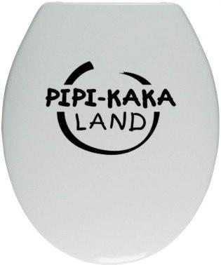 WC Aufkleber als Alternative zur Pipi Kaka Land Baddeko