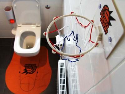 Toiletten Basketball Vorschau