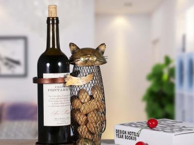 Weinhalter Katze Vorschau