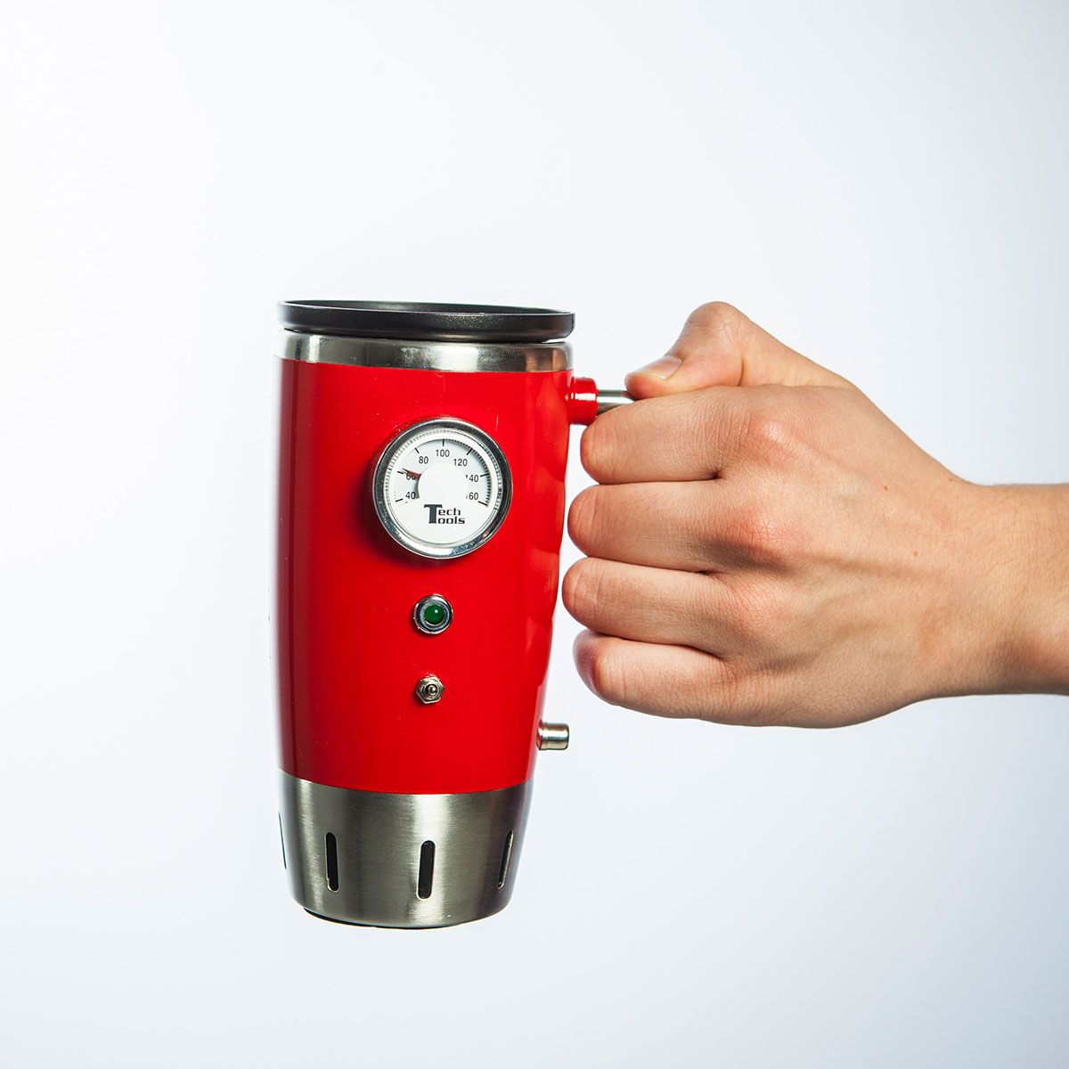 beheizter Retro Kaffeebecher Vorschau