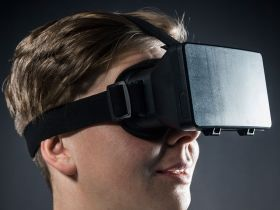 Virtual Reality Headset Vorschau