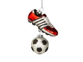 Weihnachtsanhänger Fußball Vorschau