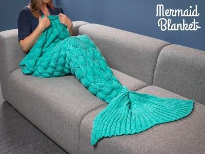 Meerjungfrau Decke Vorschau