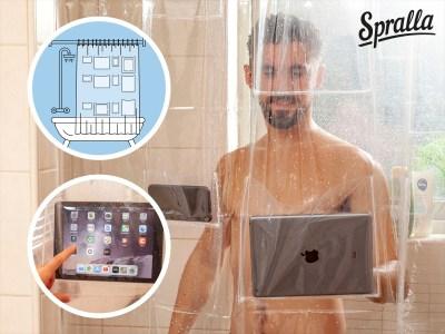 Tablet Duschvorhang Vorschau