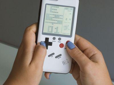 iPhone Case mit Tetris Vorschau