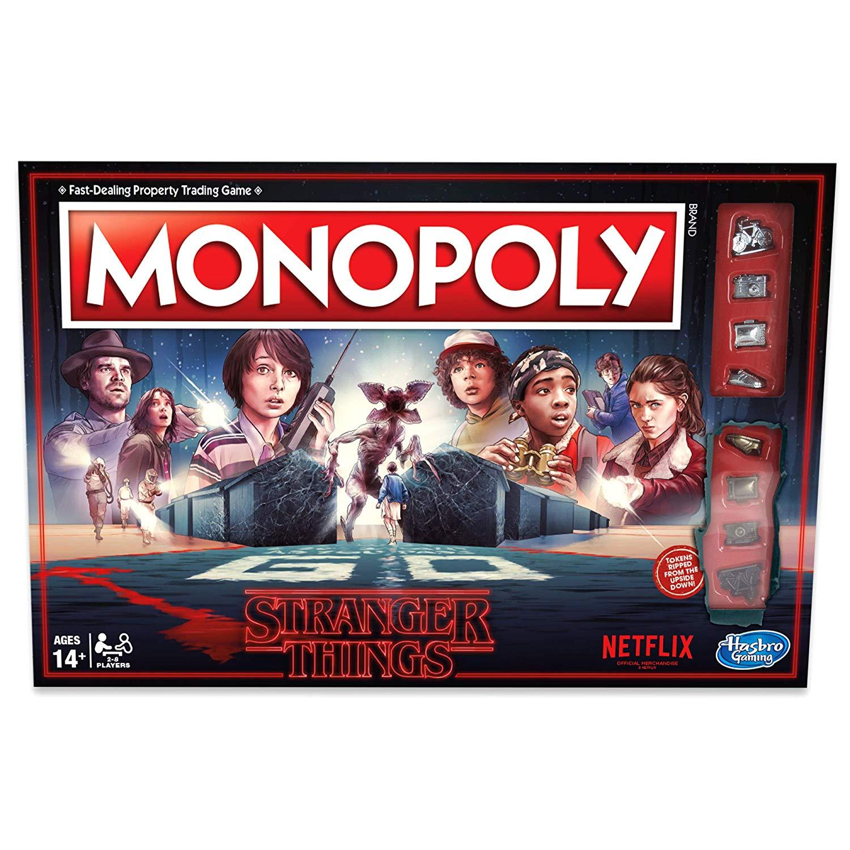 Stranger Thrings Monopoly Vorschau