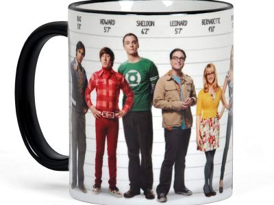 The Big Bang Theory Kaffeebecher Vorschau