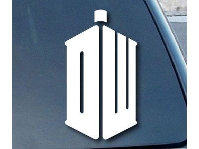 Doctor Who Auto Aufkleber Vorschau