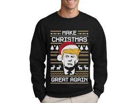 Trump Weihnachtspullover