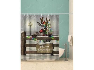 Weihnachten Duschvorhang