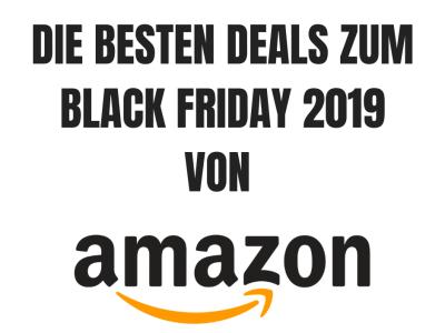 Black Friday 2019 Amazon Deals