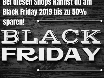 Gadgetgecko Black Friday Shops Übersicht Vorschau
