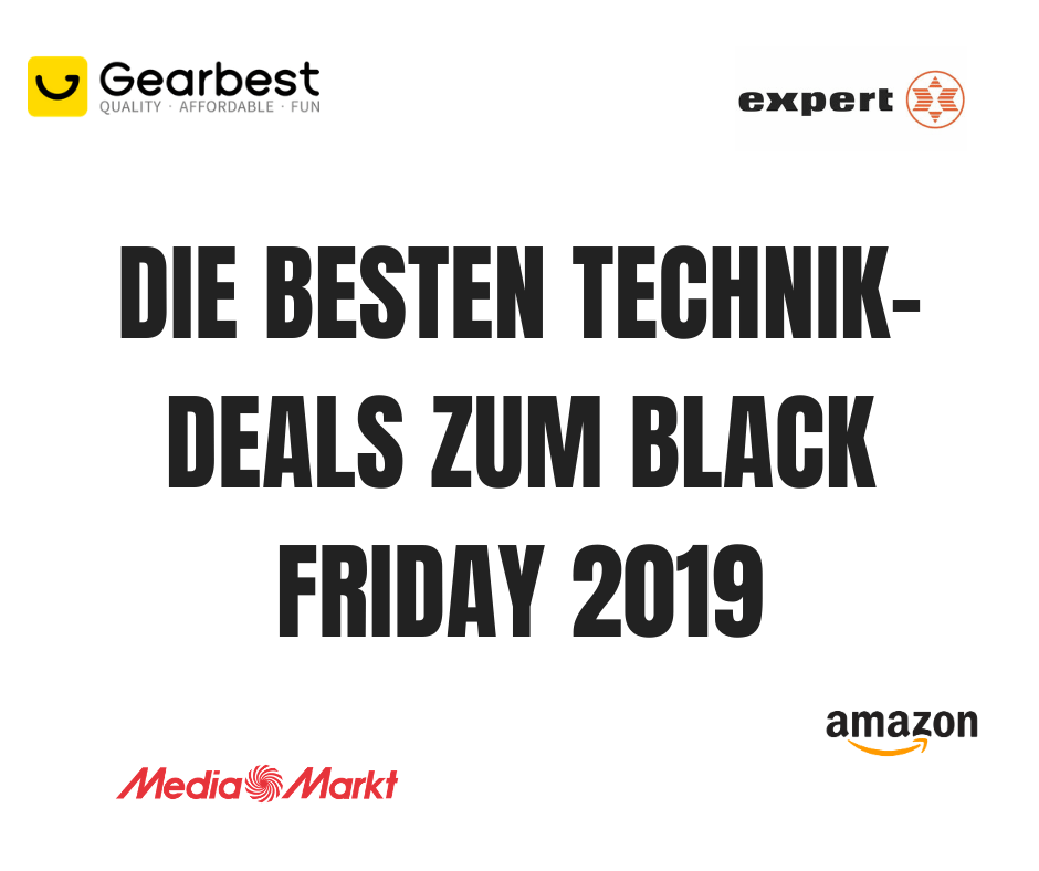 Gadgetgecko Technik Deals Black Friday 2019 Vorschau
