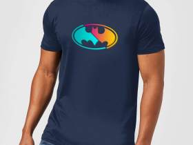 Justice League Batman Shirt blau