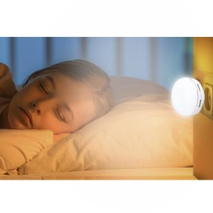 Dual USB Fast Charger With Night Lamp