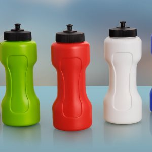 Dumbell Sipper Sr: Dumbbell Shape Water Bottle- Cap A
