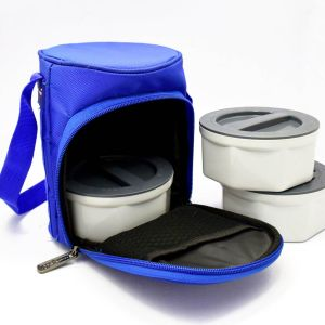 Mrs Zippy (Plastic): Zippy Lunch Bag- 3 Containers (Plastic)