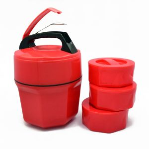 Octo-Meal Plastic: Octomeal Lunch Box – 3 Containers (Plastic)