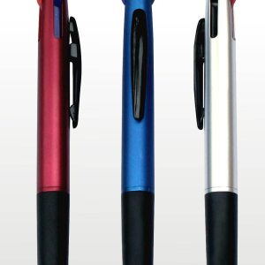 3 Refill Pen With Stylus