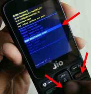 Jio phone ka Password kaise tode step 4