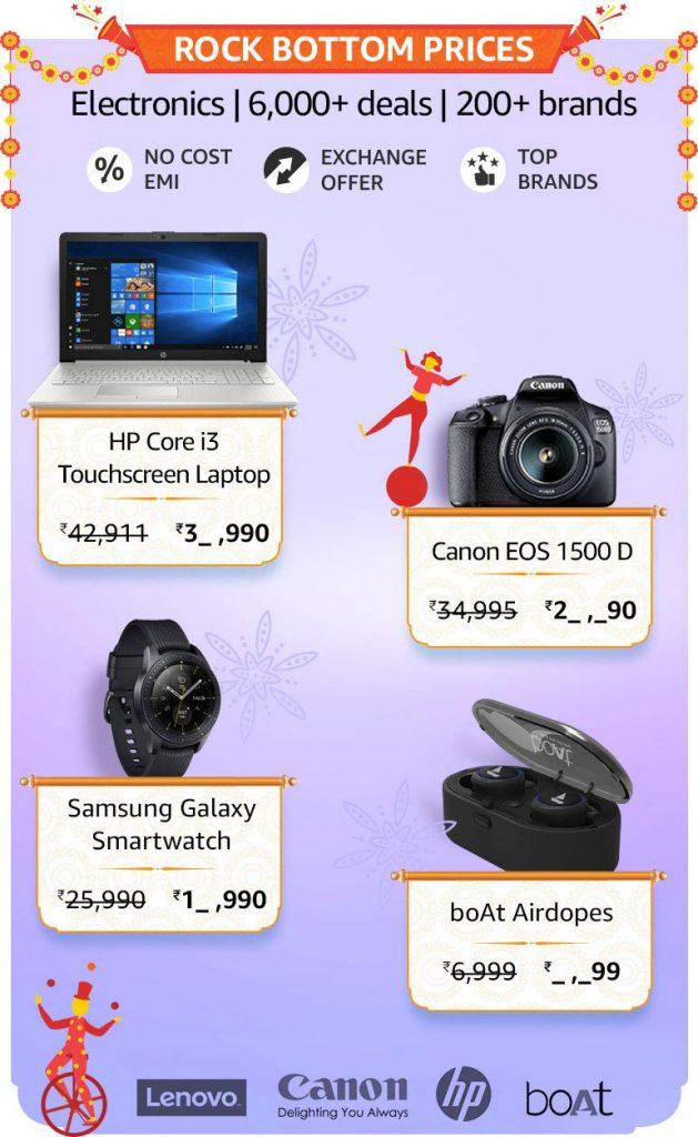 Amazon Great Indian Sale Electronics