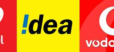 Airtel, Idea and Vodafone