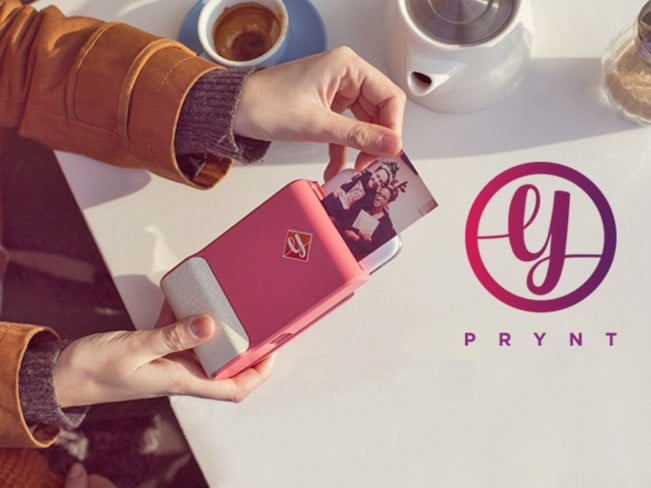 prynt photo printer phone case demo