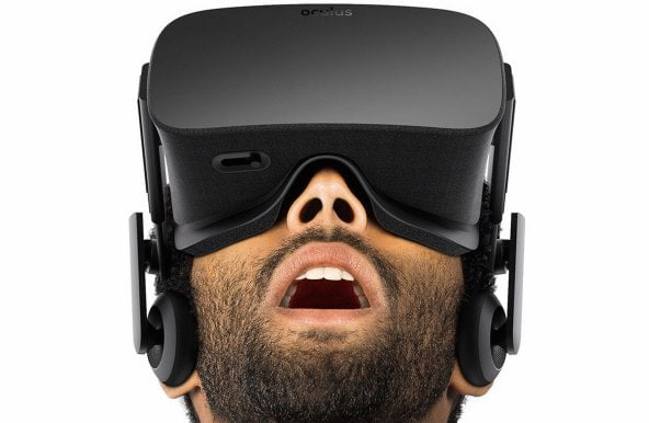 Virtual reality devices Oculus Rift