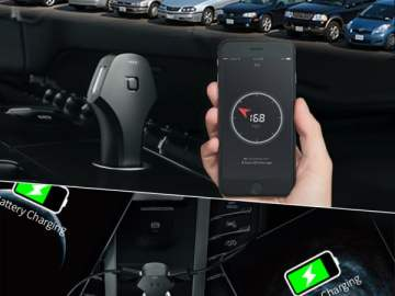 zus dual Smart Car Finder & USB Car Charge