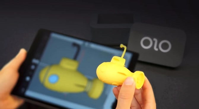 olo 3d printing from smartphone