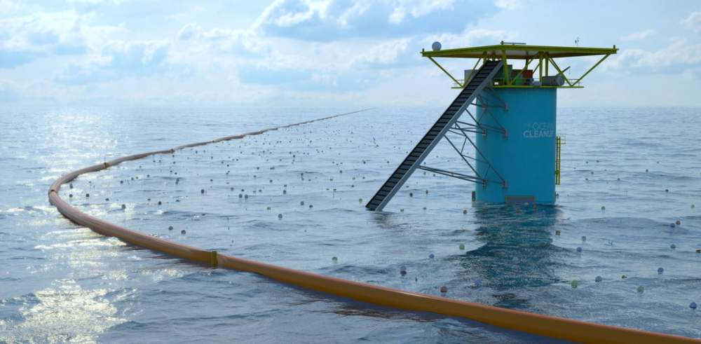 The Ocean Cleanup Project - An ocean cleanup system