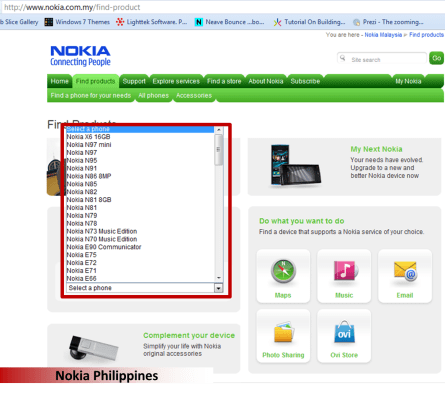 Not yet listed in Nokia Philippines but it will come in March 2010