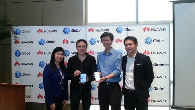 Globe Telecom, Huawei, Ascend P6, Ascend Mate, My Super Plan, Globe Postpaid, Globe Prepaid
