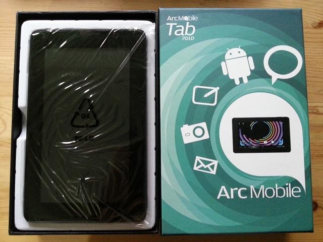 Arc Mobile, Tablet, Arc Mobile 701D, Affordable Tablets, Dual Core