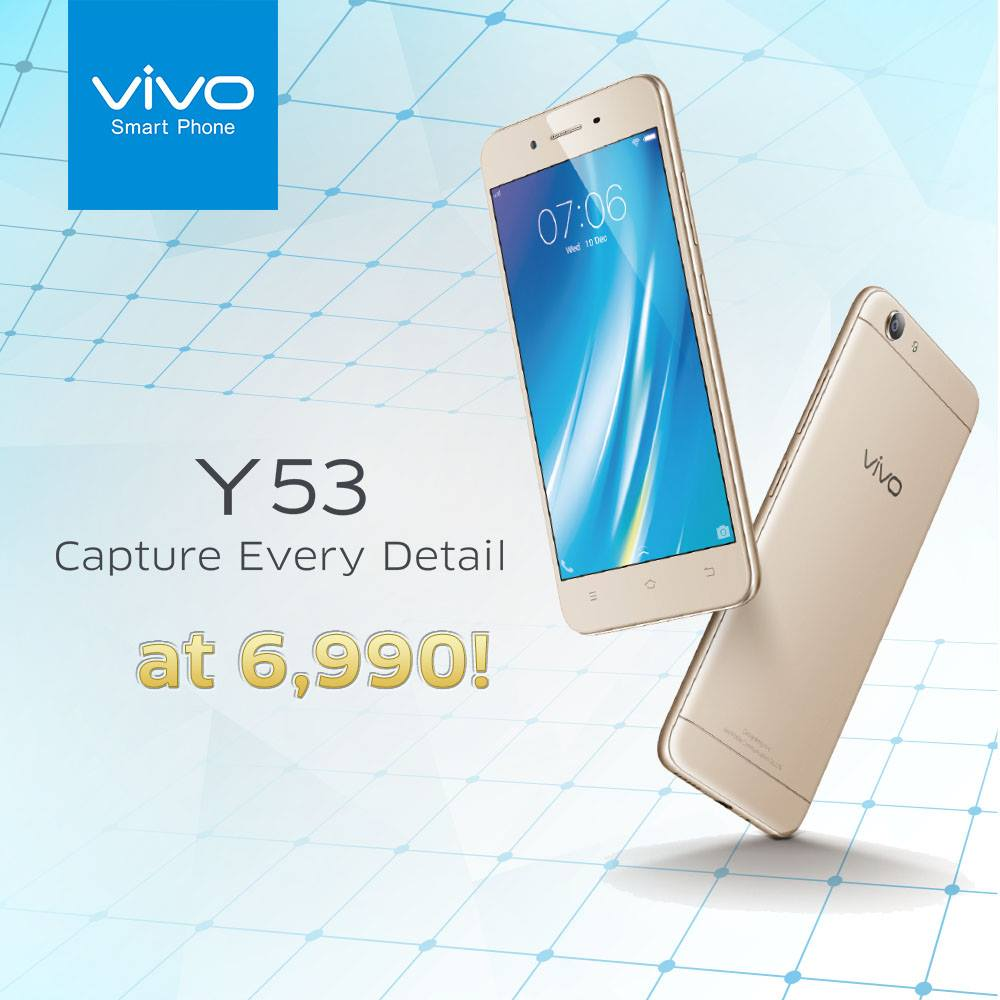 Vivo Y53 Now Available In PH For Only PhP6990 Gadget