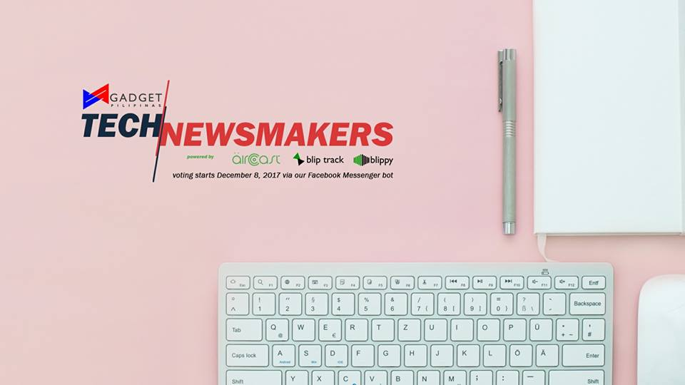 , Here are the Nominees for the Gadget Pilipinas Tech Newsmakers 2017!, Gadget Pilipinas, Gadget Pilipinas