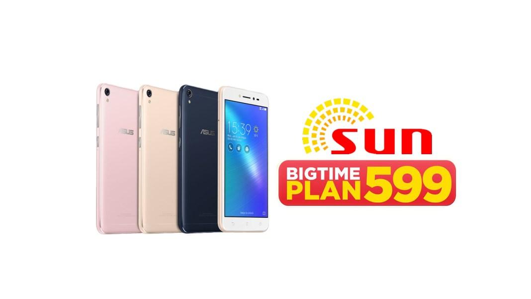 zenfone live bigtime plan 599, Zenfone Live, Now Free at SUN Bigtime Plan 599, Gadget Pilipinas, Gadget Pilipinas