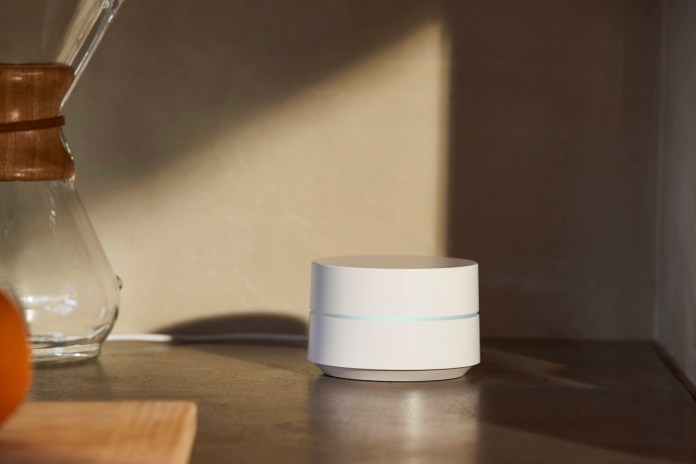 Google Wifi on counter1