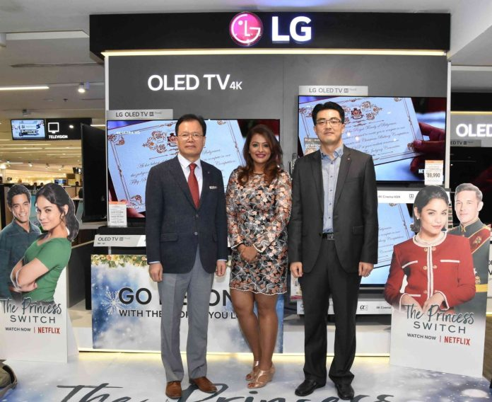 1 L R LG Philippines Managing Director Mr. Inkwun Heo 1