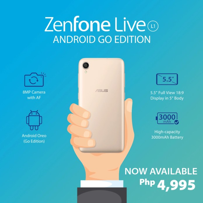 ASUS Launches its first Android GO ZenFone