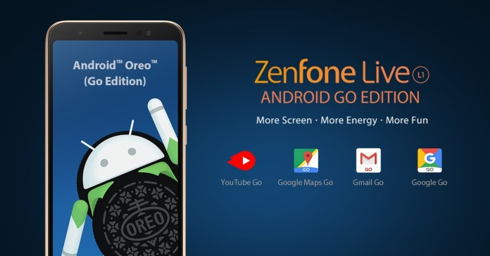 ZenFone Live L1 Android GO Edition Perks with Android GO