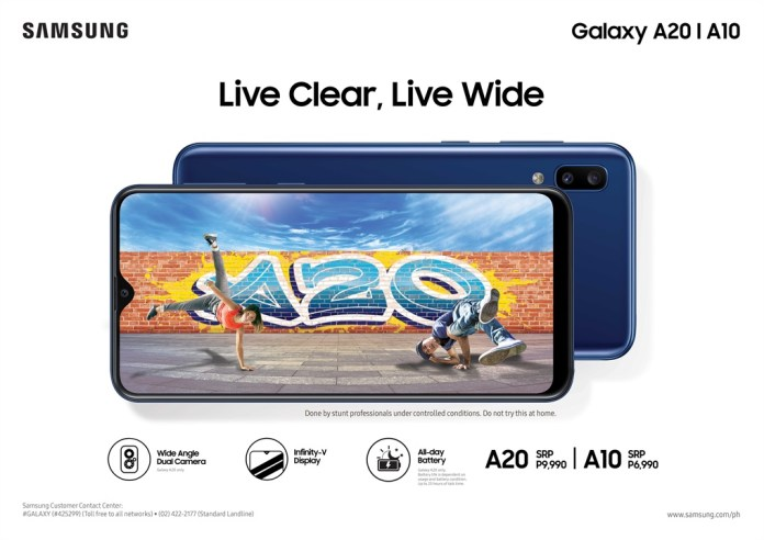 PHOTO SAMSUNG Galaxy A20 and A10 hit stores