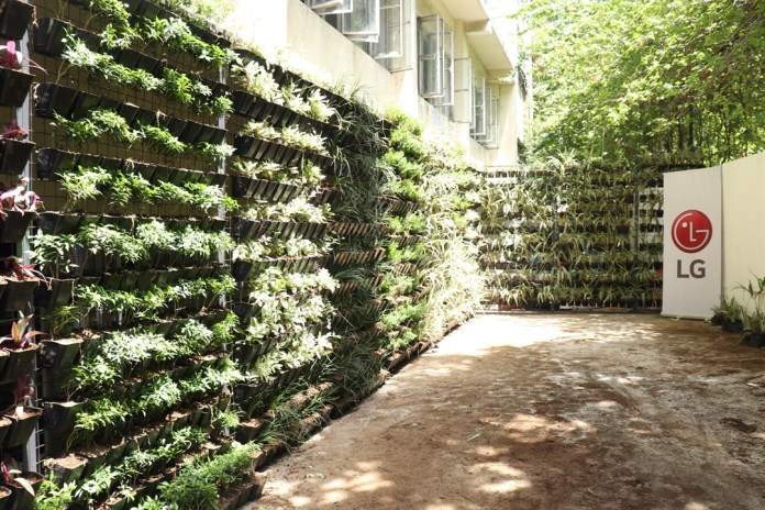 5 The Green Living Wall built by LG